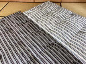 進化した綿の敷布団 kamedajima