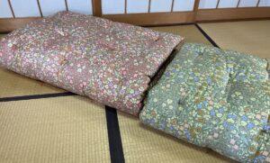ベッドでも使える綿の敷布団